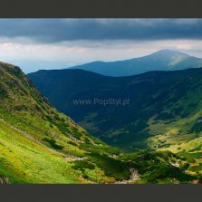 Fototapeta - Green mountain landscape